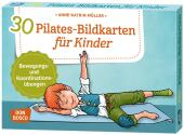 30 Pilates-Bildkarten für Kinder Cover