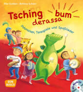 Tschingderassabum - Polonäsen, Tanzspiele und Spaßlieder, m. Audio-CD Cover