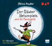 Der Räuber Hotzenplotz und die Mondrakete, 1 Audio-CD Cover