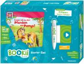 BOOKii® Starterset WAS IST WAS Junior Komm mit zu den Pferden und Ponys!