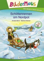 Bildermaus - Schlittenrennen am Nordpol Cover