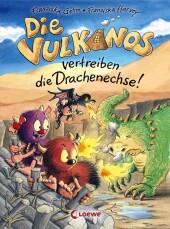Die Vulkanos vertreiben die Drachenechse! Cover