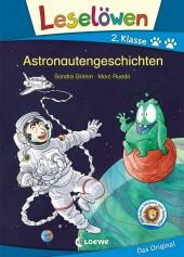 Leselöwen 2. Klasse - Astronautengeschichten Cover