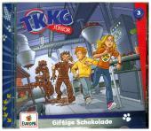 TKKG Junior - Giftige Schokolade, 1 Audio-CD Cover