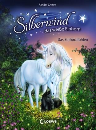 Silberwind, das weiße Einhorn - Das Einhornfohlen