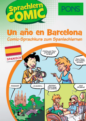 PONS Sprachlern-Comic Spanisch - Un año en Barcelona