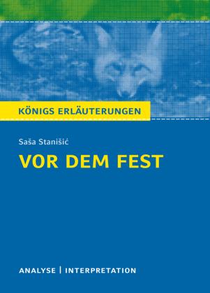 Sasa Stanisic 'Vor dem Fest'