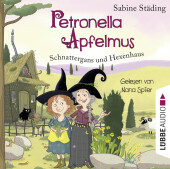 Petronella Apfelmus - Schnattergans und Hexenhaus, 2 Audio-CDs Cover