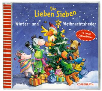 Die Lieben Sieben - Winter- und Weihnachtslieder, 1 Audio-CD
