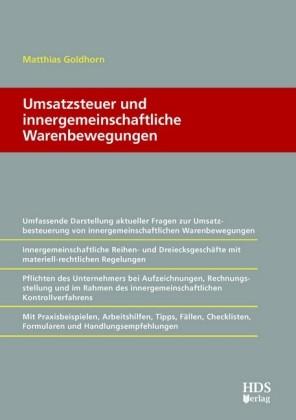 Umsatzsteuer und innergemeinschaftliche Warenbewegungen