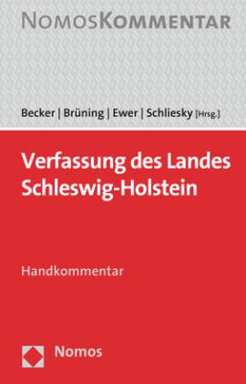 Verfassung des Landes Schleswig-Holstein