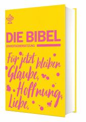 Schulbibel Die Bibel Einheitsübersetzung (Revision 2017), Gelb Cover