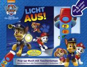 PAW Patrol, Licht aus! - Pop-up-Buch m. Taschenlampe Cover