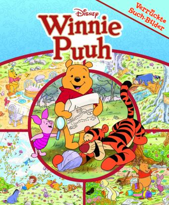 Disney Winnie Puuh - Verrückte Such-Bilder