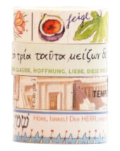 Washi Tapes Set Bibel, 4 verschiedene Rollen Cover