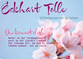 Eckhart Tolle, 10 Postkarten mit Sprüchen