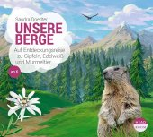 Unsere Berge, 1 Audio-CD Cover