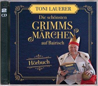 Die schönsten Grimms Märchen auf Bairisch, 2 Audio-CDs
