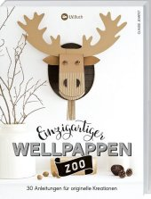 Einzigartiger Wellpappen-Zoo Cover