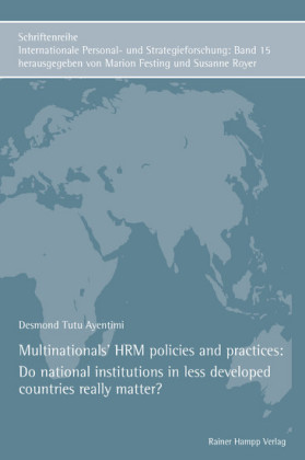 Multinationals' HRM policies and practices