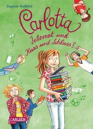 Carlotta 8: Carlotta - Internat und Kuss und Schluss?