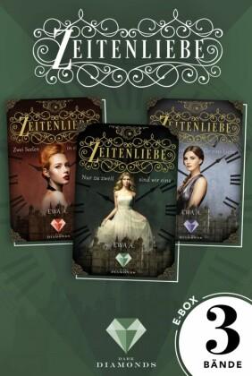 """Alle Bände der romantischen """"Zeitenliebe""""-Trilogie in einer E-Box!"""