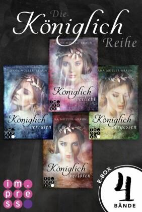 Die Königlich-Reihe: Alle vier Bände der dystopischen Prinzessinnen-Reihe in einer E-Box!