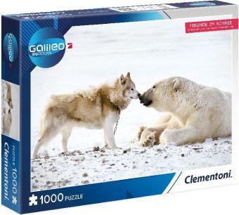 Galileo Freunde im Schnee (Puzzle)