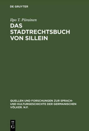 Das Stadtrechtsbuch von Sillein