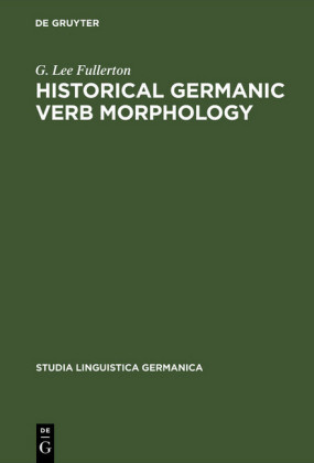 Historical Germanic Verb Morphology