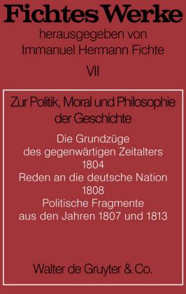 Zur Politik, Moral und Philosophie der Geschichte