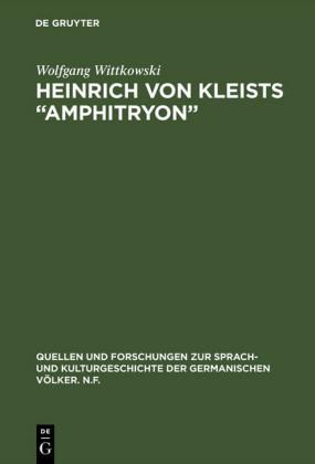Heinrich von Kleists 'Amphitryon'