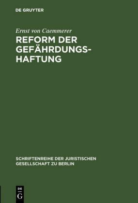 Reform der Gefährdungshaftung