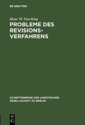 Probleme des Revisionsverfahrens