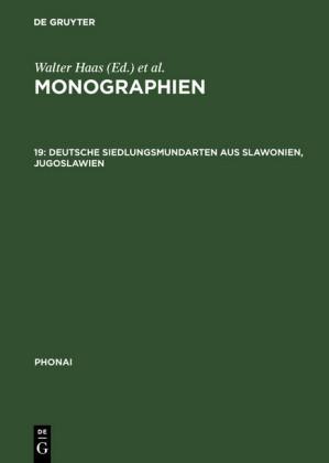 Deutsche Siedlungsmundarten aus Slawonien, Jugoslawien