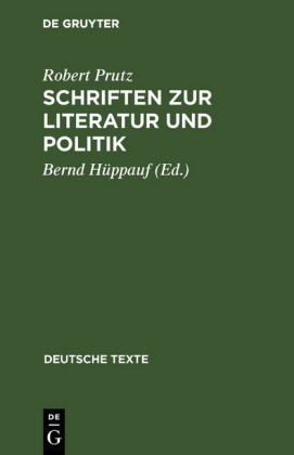 Schriften zur Literatur und Politik