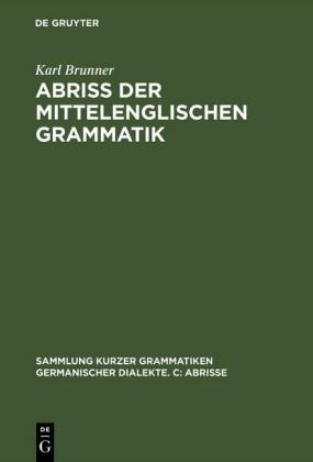 Abriß der mittelenglischen Grammatik