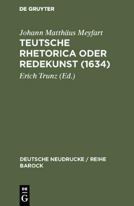 Teutsche Rhetorica oder Redekunst (1634)