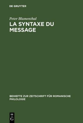 La syntaxe du message