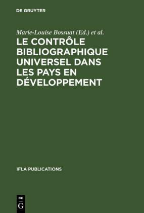Le contrôle bibliographique universel dans les pays en développement