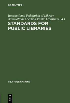 Standards for public libraries
