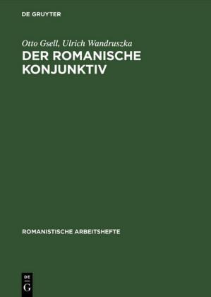 Der romanische Konjunktiv