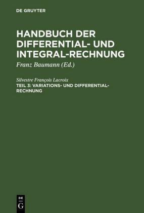 Variations- und Differential- Rechnung