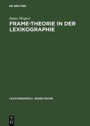 Frame-Theorie in der Lexikographie