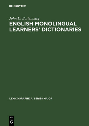English monolingual learners' dictionaries