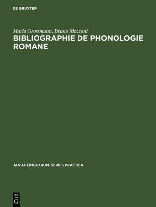 Bibliographie de phonologie romane