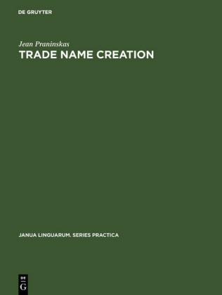Trade name creation