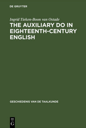The auxiliary do in eighteenth-century English