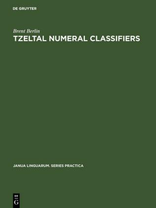 Tzeltal numeral classifiers