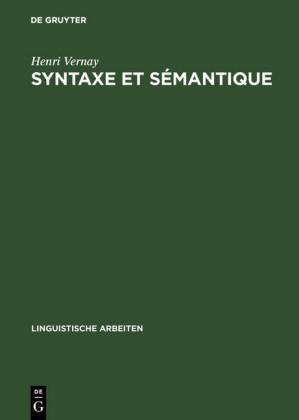 Syntaxe et sémantique